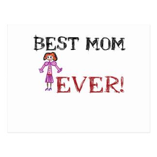 Love mom postcard