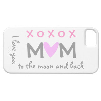 love mom to moon and back iphone case iPhone 5 covers