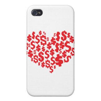 LOVE MONEY iPhone 4 COVER