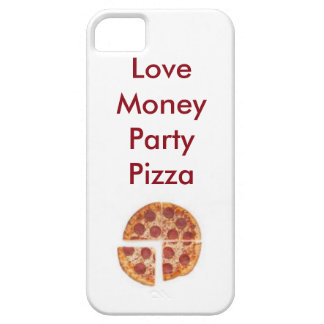 love money party pizza iPhone 5 cases