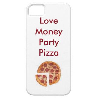 love money party pizza iPhone SE/5/5s case