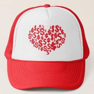 LOVE MONEY TRUCKER HAT