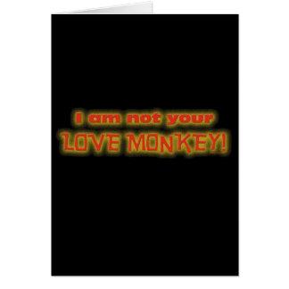 LOVE MONKEY CARD