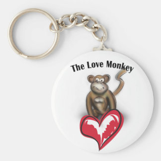 love-monkey keychain
