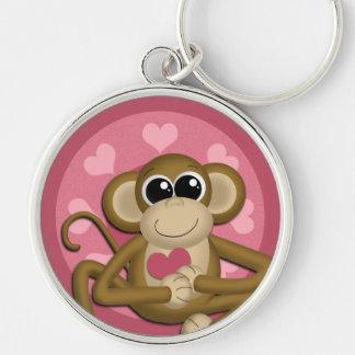 Love Monkey : Premium Keychain