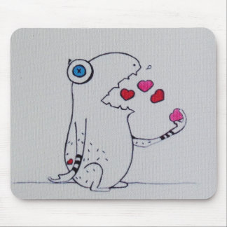 love monster mouse pad