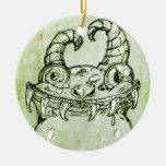 Love Monster Sketch Christmas Ornament