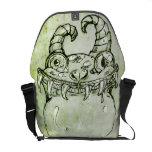 Love Monster Sketch Messenger Bag