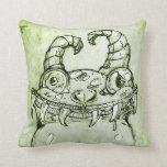 Love Monster Sketch Pillow