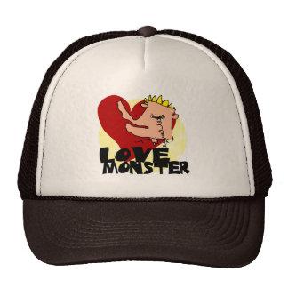 Love Monster Trucker Hat