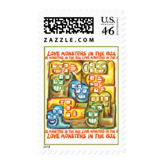 Love Monsters In The Box Stamps
