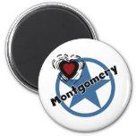 Love Montgomery Fridge Magnets