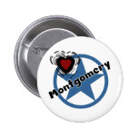 Love Montgomery Pinback Button