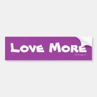 LOVE MORE Bumper Sticker Car Bumper Sticker