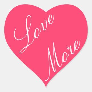Love More Stickers