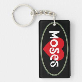 Love Moses Keychain