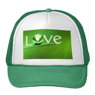 Love mother earth by healing love trucker hat