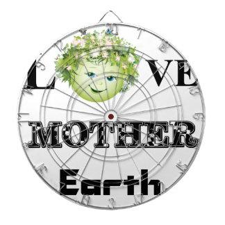 Love Mother Earth Dart Board