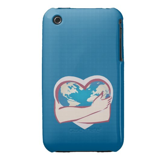 Love Mother Earth iPhone 3 Cover