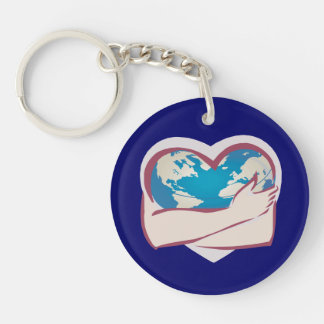 Love Mother Earth Keychain