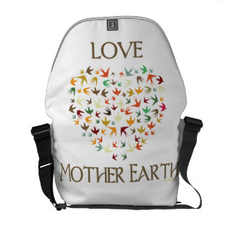 Love Mother Earth Commuter Bag