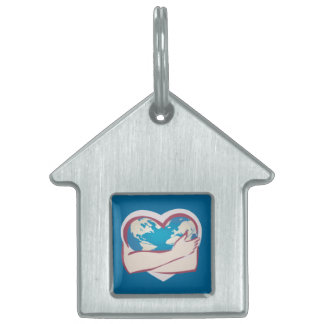 Love Mother Earth Pet ID Tag