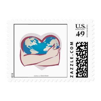 Love Mother Earth Postage Stamp