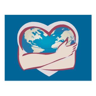 Love Mother Earth Postcard