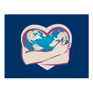 Love Mother Earth Postcard