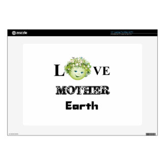 Love Mother Earth Skins For Laptops