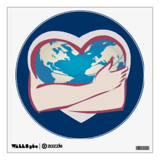Love Mother Earth Wall Decal