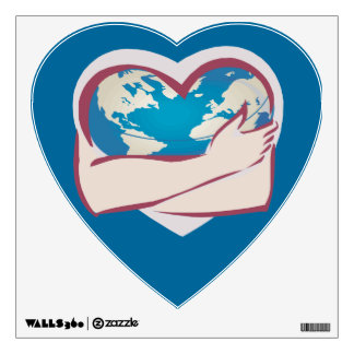 Love Mother Earth Wall Sticker