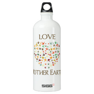 Love Mother Earth Water Bottle