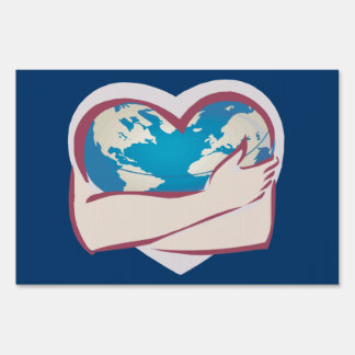 Love Mother Earth Lawn Signs