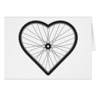Love Mountain Biking Card