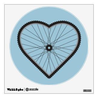 Love Mountain Biking Wall Stickers