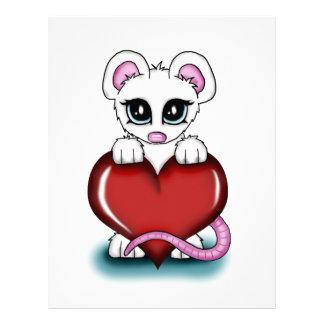Love Mouse Letterhead