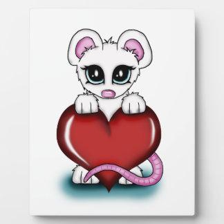 Love Mouse Plaque