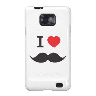 Love Moustache Galaxy S2 Case