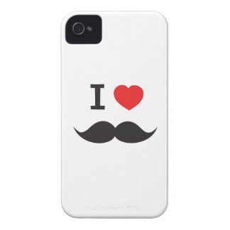Love Moustache Case-Mate iPhone 4 Case