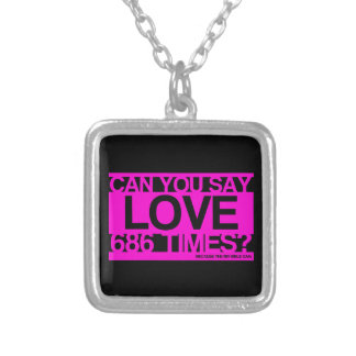 Love Much Christian Custom Necklace