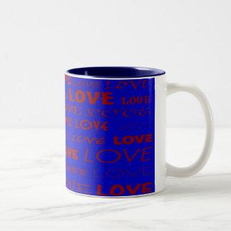 """""""Love"""" mug by Zoltan Buday"""