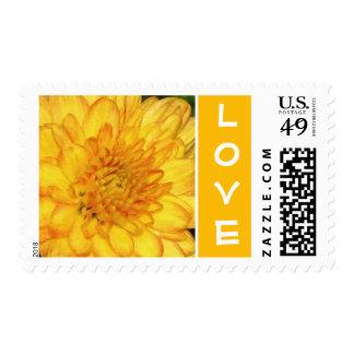 Love Mum Postage Stamp