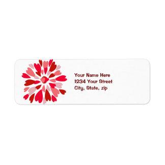 Love Mum Valentine Label