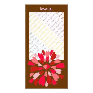 Love Mum Valentine photo card