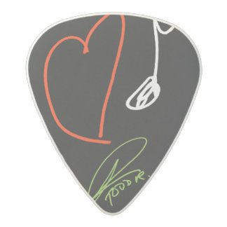 Love Music Guitar Pick Med. Gauge