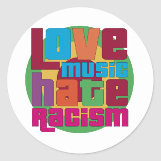 Love Music Hate Racism Sticker