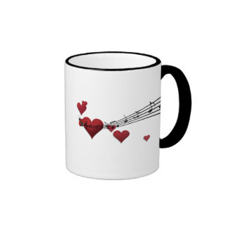 Love music ringer coffee mug