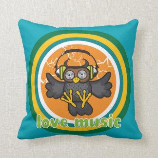 Love music pillows