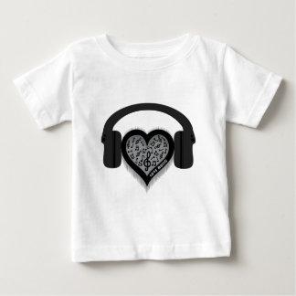 Love Music rhythm heart beat Tee Shirt